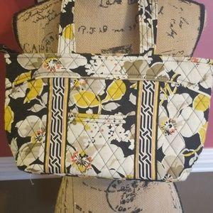 Vera Bradley Purse in Retired Dogwood Pattern